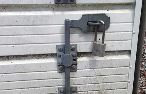 Heavy Garage Lock